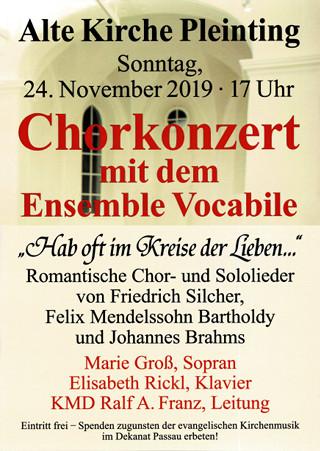 Konzertplakat 24.11.2019